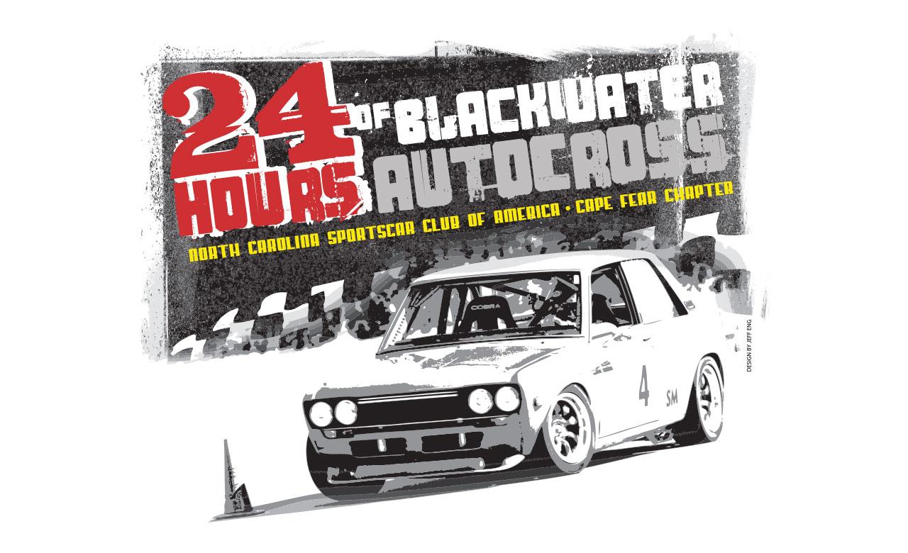 24hr at blackwater illustration