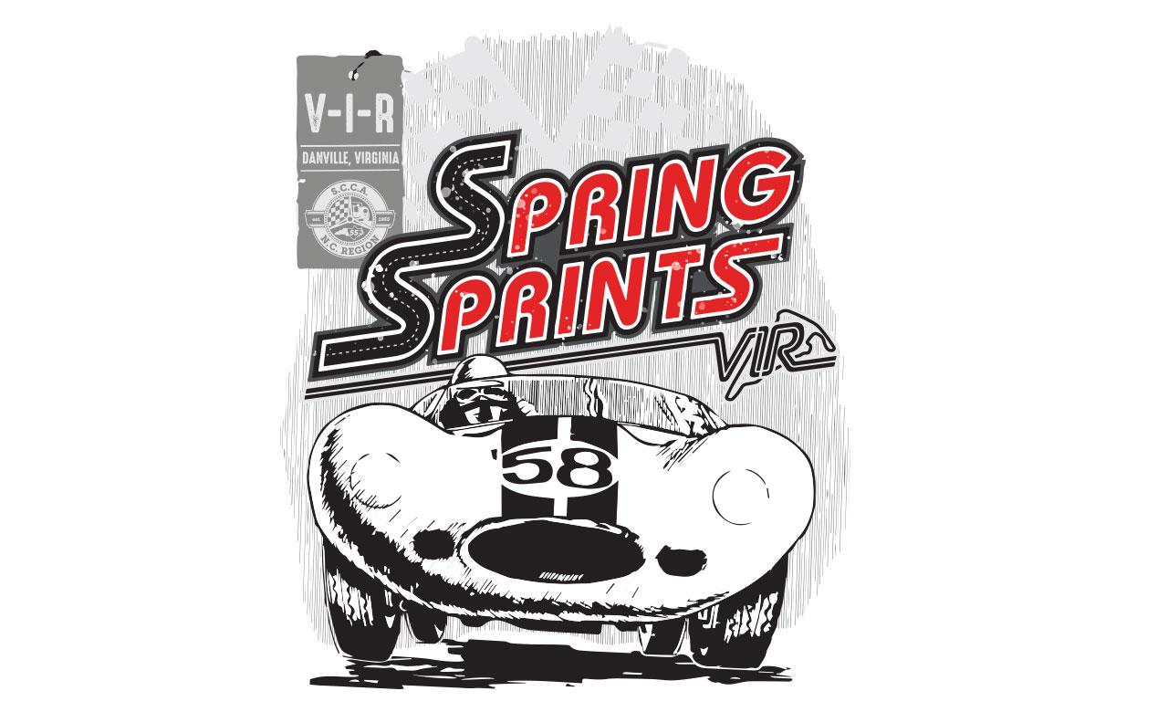 spring sprints illustration